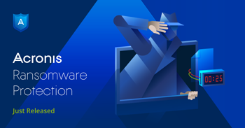 Acronis Ransomware Protection.