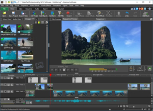 NCH - Video Pad Video Editor