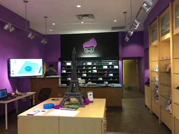Inside Creation Labs Store